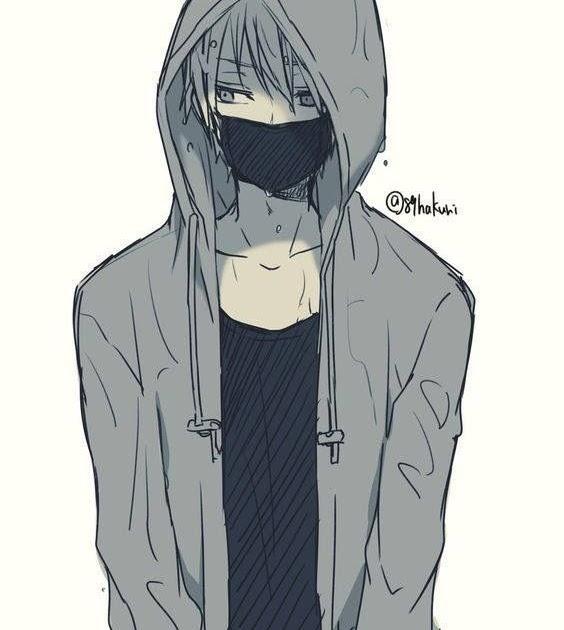 Foto Anime Pake Masker Keren Literatur