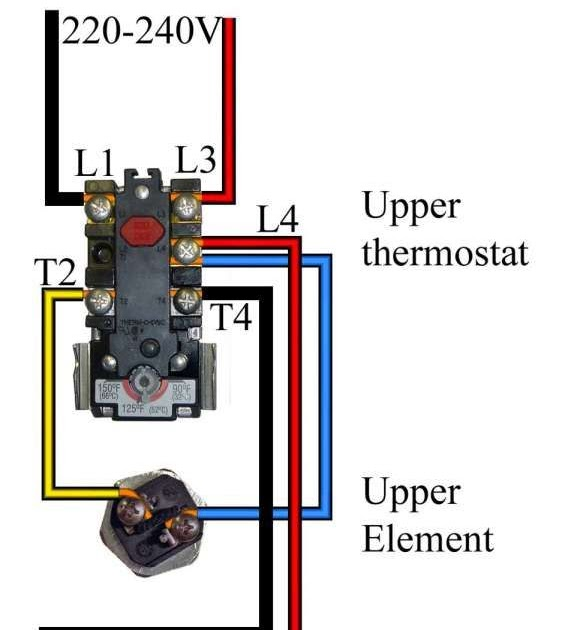 240 Volt Hot Water Heater Wiring Diagram