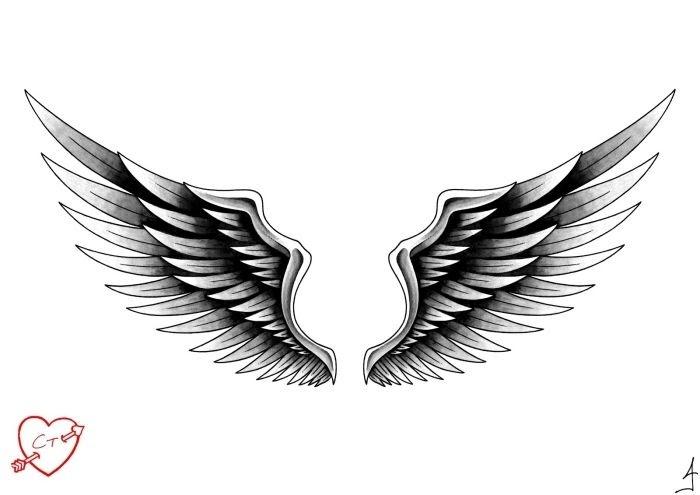 31 engelsflügel schablone ausdrucken kostenlos  besten
