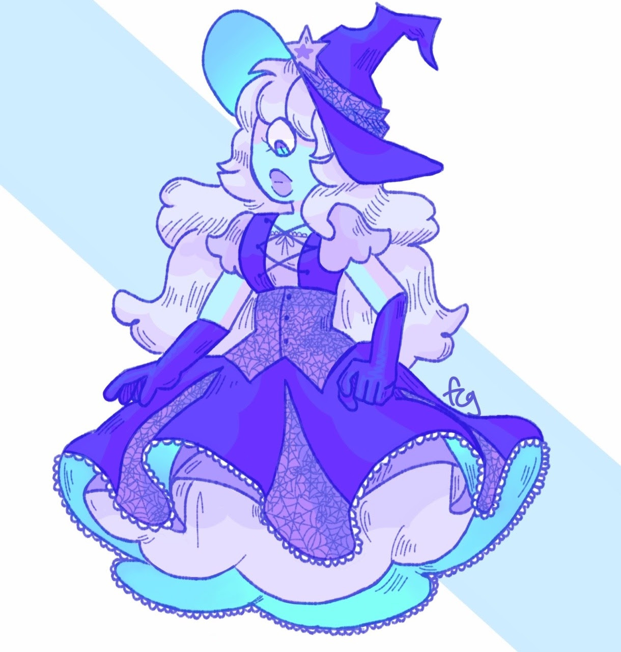 redraw of an old Halloween thing from last year! If u wanna see the original one just message me and I'll send it to u
