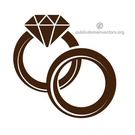 wedding rings vector   free vectors   UI Download