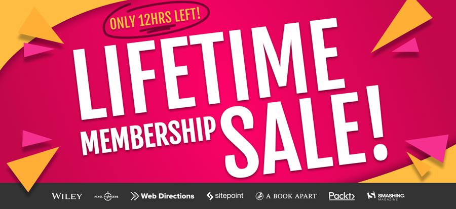 $100 off lifetime membership sale on now