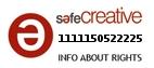 Safe Creative #1111150522225