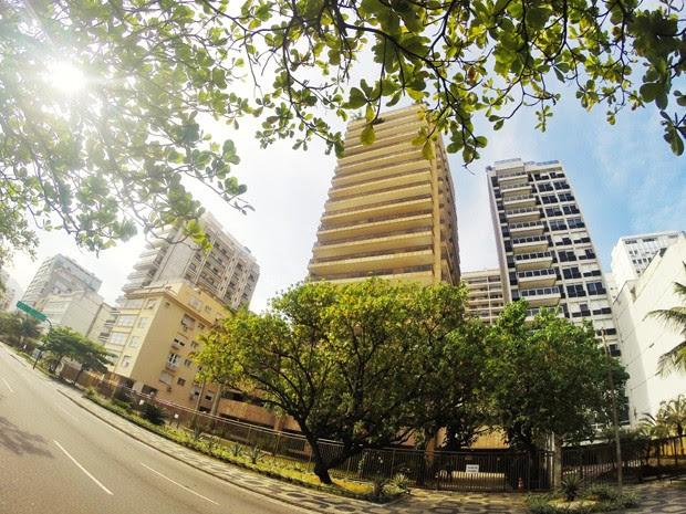 Edifício possui apartamento à venda por R$ 70 milhões. (Foto: Laura Borba/ Arquivo pessoal)
