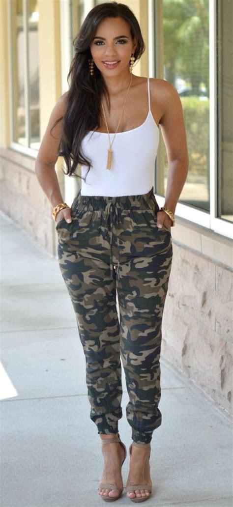 Camo Pants Outfit
