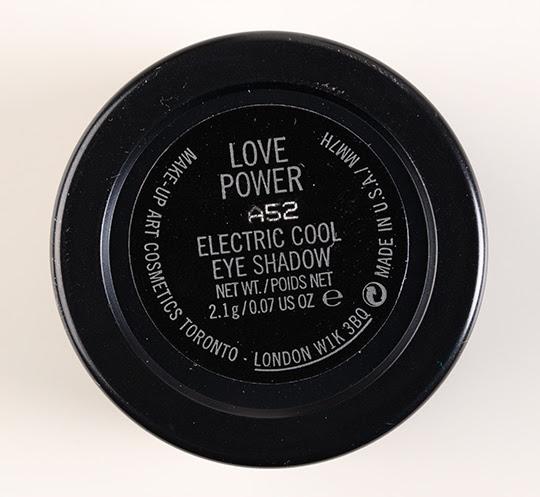 MAC Love Power Electric Cool Eyeshadow