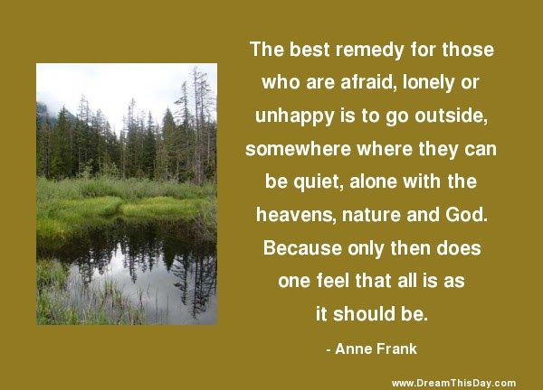 Daily Quotes: Quiet Time
