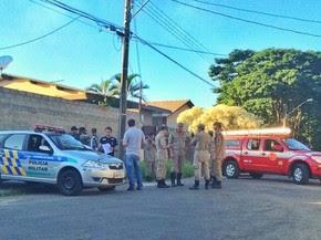 Agrônomo morre intoxicado por gases no setor Jaó, em Goiânia, Goiás (Foto: John William/TV Anhanguera)