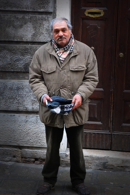 Cannaregio Beggar