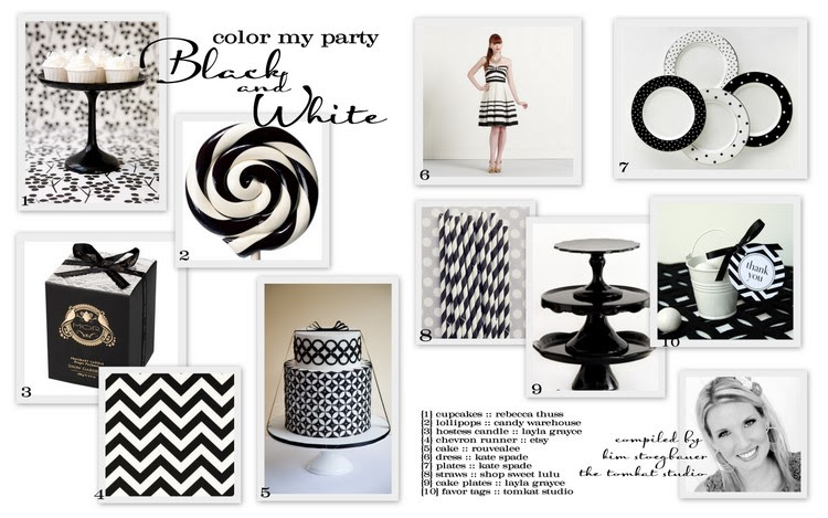Black And White Party Decorations Party Favors Ideas