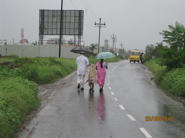 Walk to Mumbai Pune Expressway