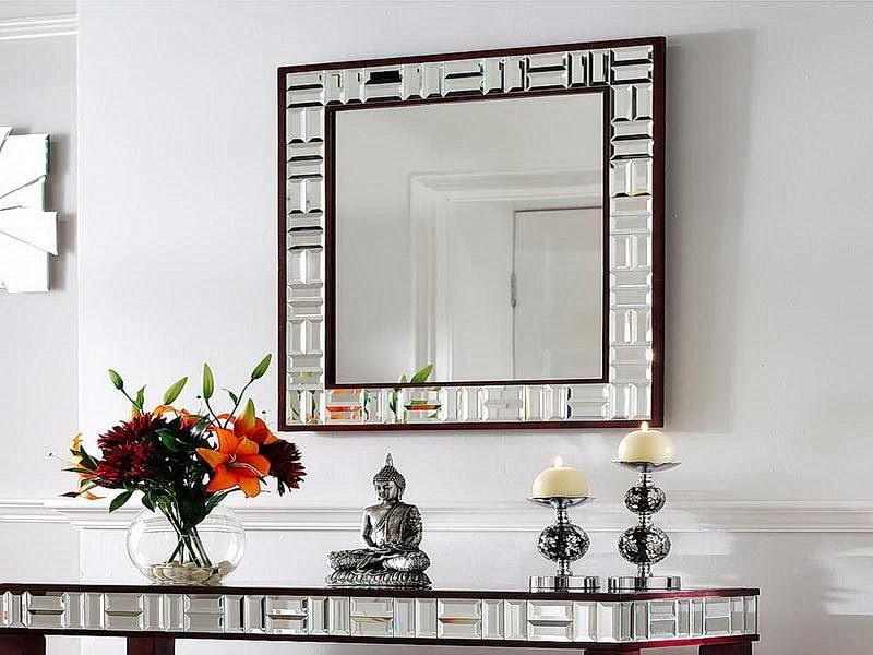 Some Living Room Wall Decor Mirrors Ideas (21 photo ...