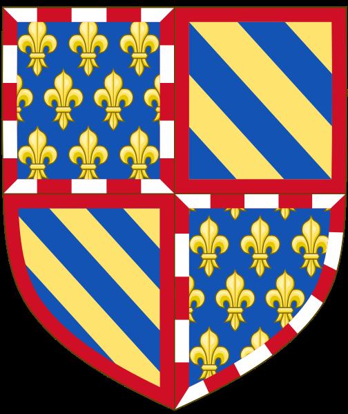 Archivo:. Armas del duque de Borgoña (1364-1404) svg