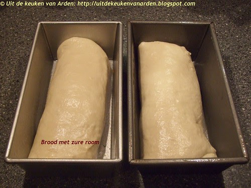 Brood met zure room / Sour Cream Bread