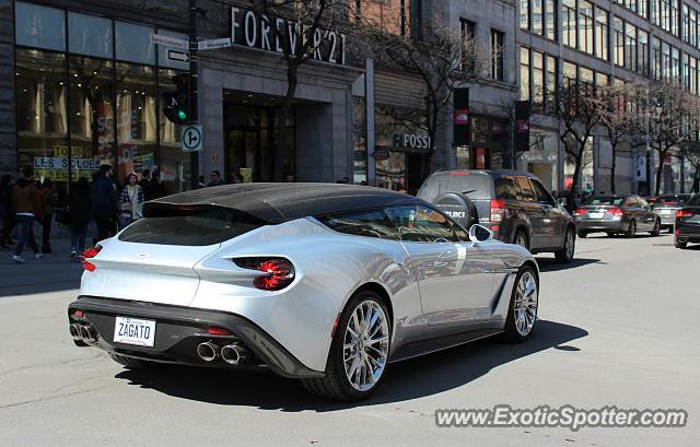 Aston Martin Zagato Spotted In Montreal Canada On 04 13 2019 Photo 2