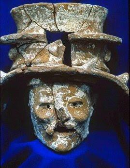 D'anciennes sculptures et autels Mayas découverts au Guatemala