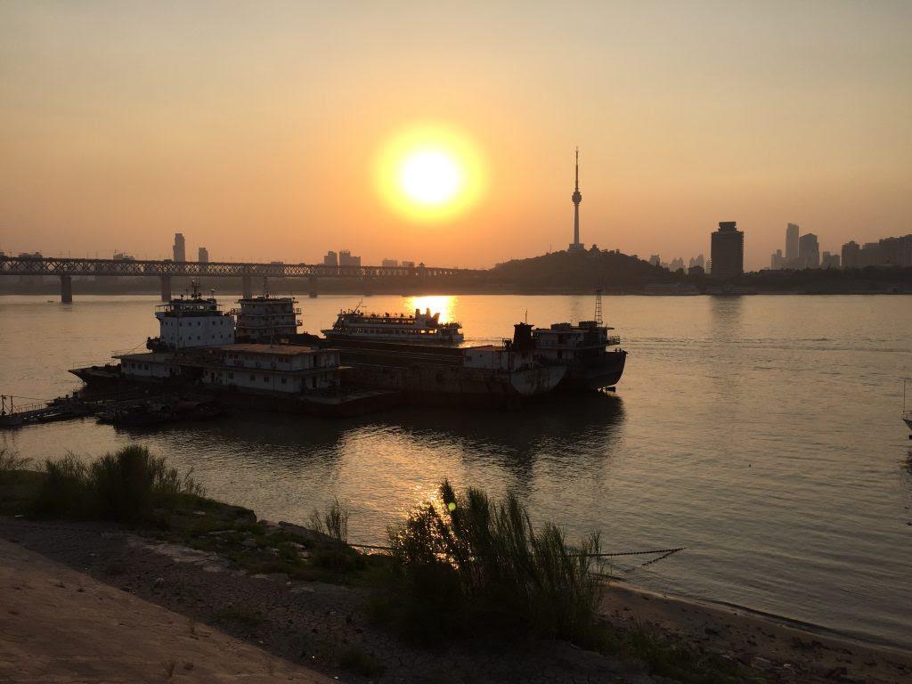 Le fleuve Yang Tse Kiang, le troisième plus grand fleuve du monde