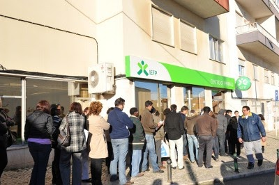 Zona euro tem quase 19 milhões de desempregados