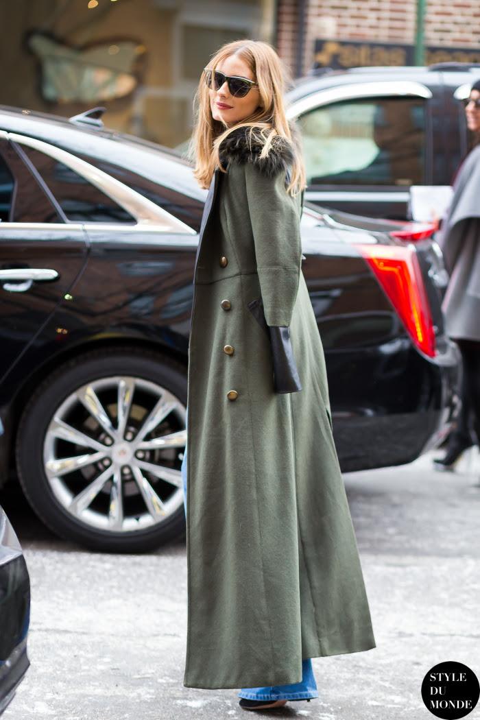 Olivia Palermo Street Style Street Fashion Streetsnaps by STYLEDUMONDE Street Style Fashion Blog