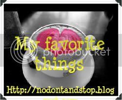 My Favorite Things Monday