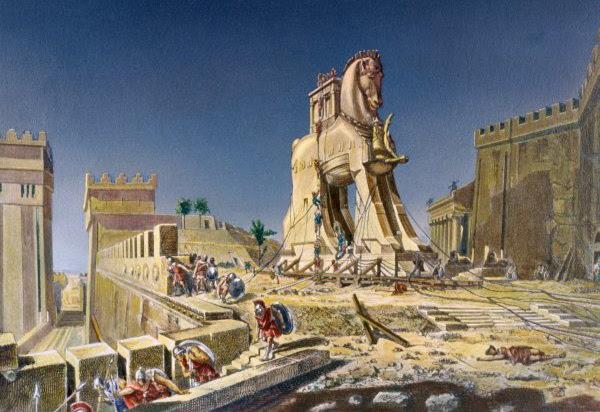 Ficheiro:Beware of Greeks bearing gifts.jpg