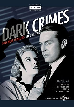 Dark Crimes Film Noir Thrillers Dvd