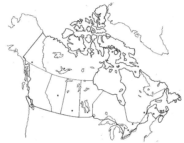 Blank Canada Geographical Features Map 25 Awesome Blank Map Of Canada Provinces And Territories