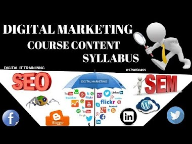 What is Digital marketing Course Content Training Syllabus Telugu|Online|Video Tutorials