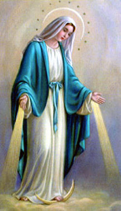 """""""Rejoice, so highly favoured! The Lord is with you."""" - Holy Family of Bordeaux"""