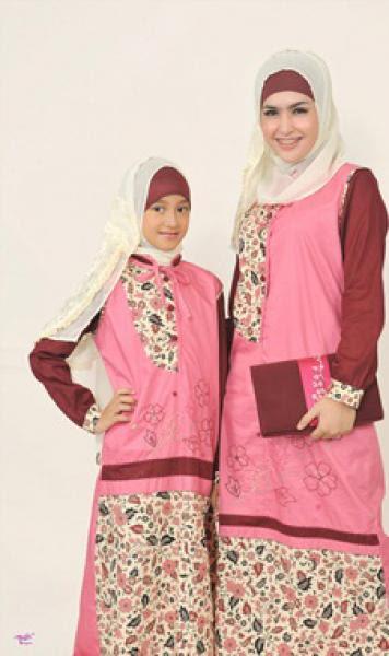 Model Baju Muslim Couple Ibu dan Anak Perempuan Terbaru