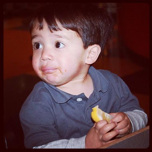 Owen's lemon face
