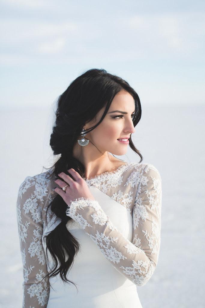 18 Stunning Winter Wedding Dress Ideas