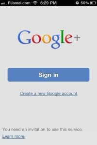 Google plus iPhone app officially here