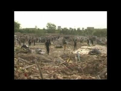 20 dead in Pakistan barracks blast
