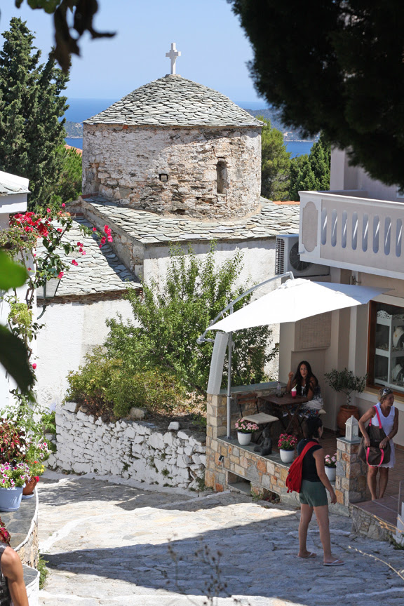 Alonissos, old town, Hora