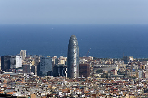 Agbar Tower, Barcelona, Spain
