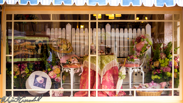 Disneyland Resort, Disneyland, Main Street U.S.A., Spring, Easter, Gibson, Girl, Ice, Cream, Window