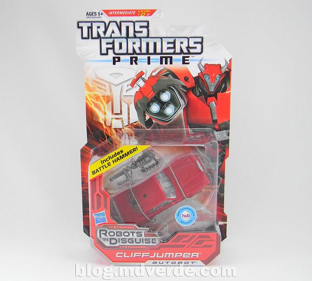 Transformers Cliffjumper Deluxe - Prime RID - caja