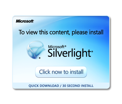 Please, install Microsoft Silverlight to view this content