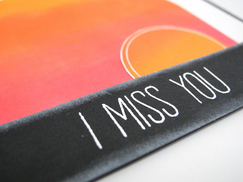 Sunset Miss You (detail)