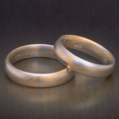 91 best Damascus Steel Rings and Wedding Bands images on