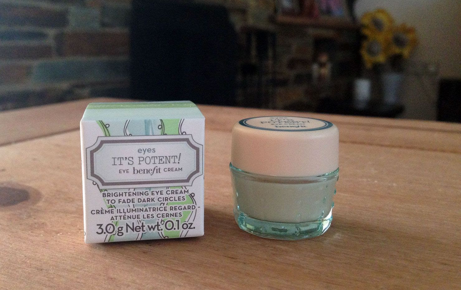 Benefit It's Potent Eye Cream Review