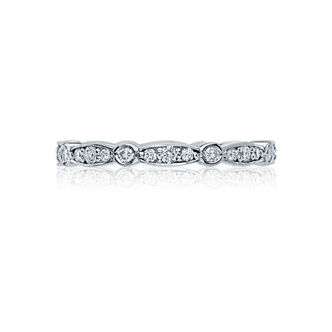 Tacori Wedding Bands Sculpted Crescent Diamond Eternity 0