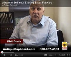 Sell Sterling Silverware and Tea Services, Fast Payment, Safe, BBB