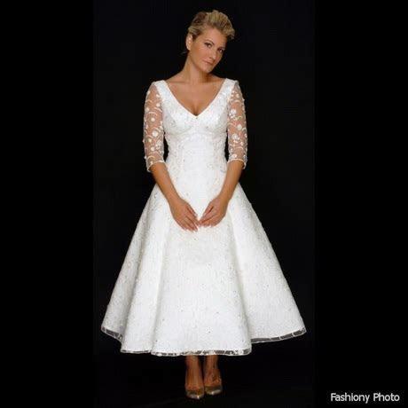Short wedding dresses for older brides