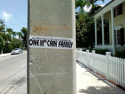 one mccain family