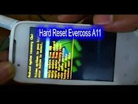 Video Cara Reset Evercoss A11 Lupa Pola Kunci Layar