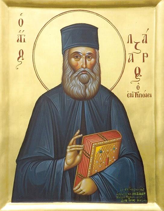 IMG ST. LAZARUS, New Hieromartyr of Tripoli, Peleponnese