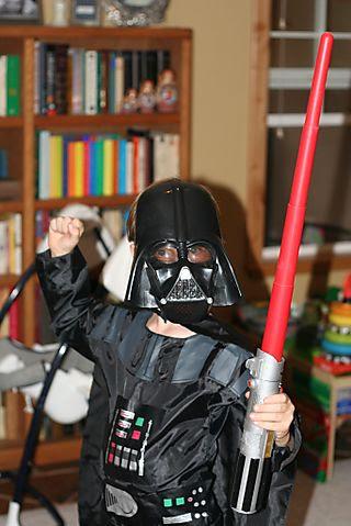 A as Darth Vader web