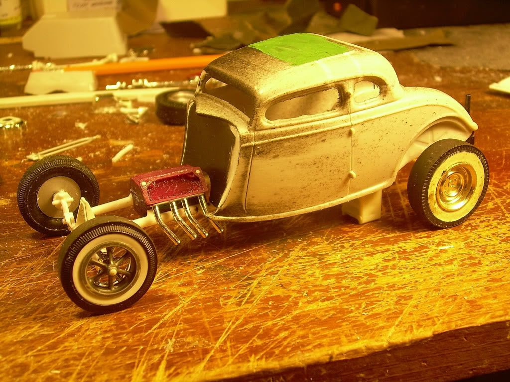 Glue?  Scale Auto Magazine  For building plastic  resin scale model cars, trucks, motorcycles